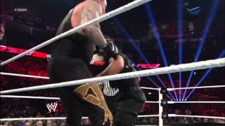 Video Team Hell No & The Undertaker vs. The Shield: Raw, April 22, 2013 MP3, 3GP, MP4, WEBM, AVI, FLV Juli 2018