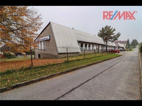 Video Prodej průmyslového areálu na pozemku 7.165 m2, obec Vacov/Vlkonice