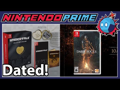 Dark Souls Remastered & Undertale for Switch Get Dated