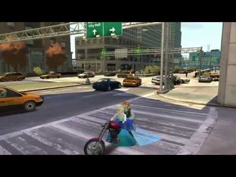 Grand Theft Auto IV - Elsa And Anna Frozen (MOD) 18+ HD