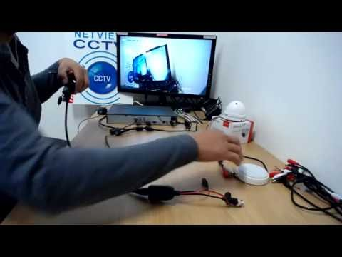 How to Easily Connect a Microphone to a CCTV DVR NVR or IP Camera using a Mic Connection Kit