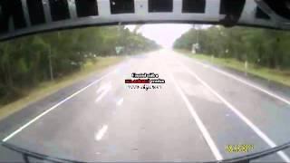 Iluka Australia  city photos : Dash Cam of Crash Iluka Turn Off, NSW Australia
