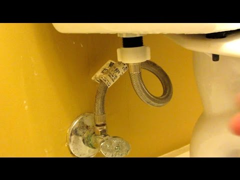 How to Fix Vibration Noise on Toilet Water Valve