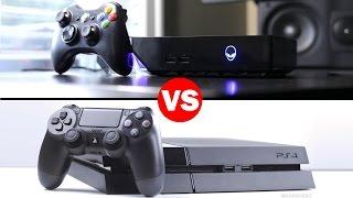 Alienware Alpha Vs Playstation 4 Graphics Comparison