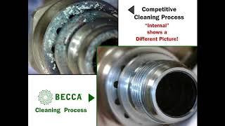 BECCA vs Competitors – Waterborne Spray Gun Cleaning Analysis