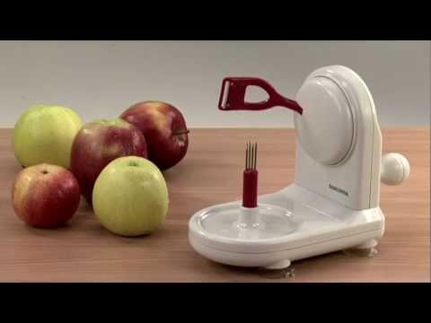 Видео Полезные приспособления Tescoma Tescoma Приспособление для очистки яблок HANDY, Tescoma 643640