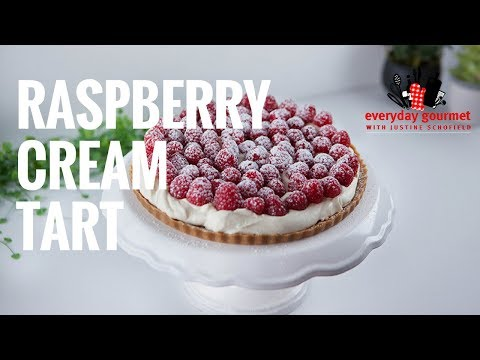 Raspberry Cream Tart | Everyday Gourmet S7 E83