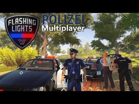 FLASHING LIGHTS #02 Multiplayer 🚨 Auf Streife I Officer brauch Unterstützung [Deutsch/HD]