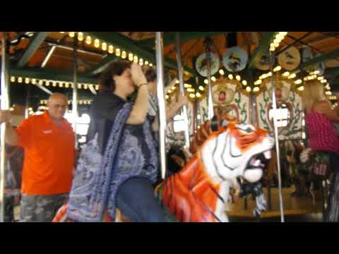 Video: Randy Boyd rides the Kingsport Carousel