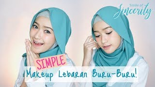 Video SIMPLE MAKEUP LEBARAN - WARDAH ONE BRAND TUTORIAL  | SARITIW MP3, 3GP, MP4, WEBM, AVI, FLV Juni 2018