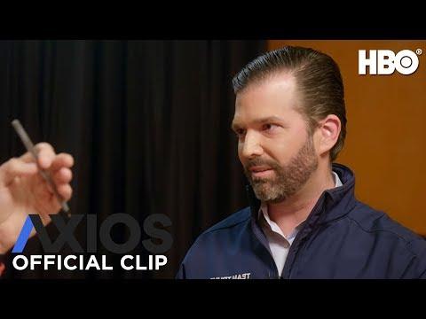 AXIOS on HBO: Donald Trump Jr. on Coronavirus (Season 3 Episode 2 Clip) | HBO