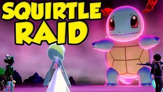 Squirtle Max Raid Battle In Pokemon Sword and Shield! by Verlisify