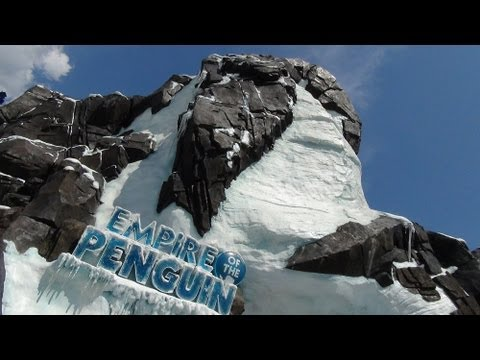 Orlando - A complete ride-through POV of SeaWorld Orlando's Antarctica Empire of the Penguin. This is the