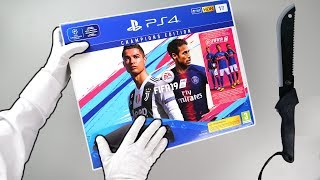 Unboxing PS4 FIFA 19 Console (Loot Box Edition Playstation 4)