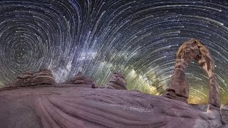 Amazing 360 Degree Night-Sky Time-Lapse