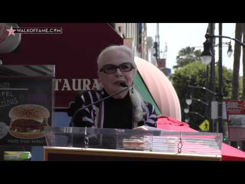 Barbara Bain Walk of Fame Ceremony