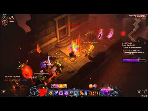 Diablo 3 Wizard Firebird Greater rift 40