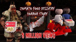 Zomato Food Delivery - Horror Story part 1 (ANIMATED IN HINDI) Make Joke Horror