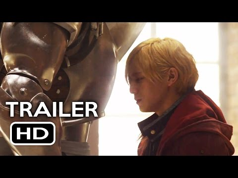Fullmetal Alchemist Live-Action Official Teaser Trailer #1 (2017) Action Movie HD (видео)