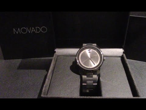 , title : 'Unboxing the Movado Bold 3600259 Stainless Steel Swiss Quartz Watch'