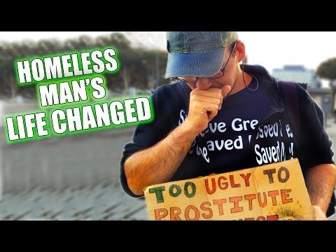 Must - Steve Greene give a homeless man a makeover that will change his life forever! SUBSCRIBE! - http://goo.gl/yLo9RP Featuring: -Steve Greene http://www.twitter.com/SteveGreeneCOM https://www.faceboo...