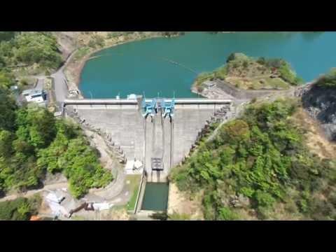 Parrot Bebop Droneによるダム空撮