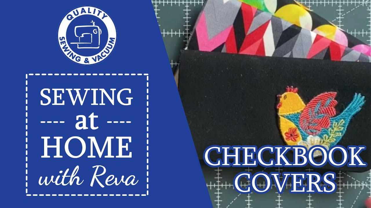 Picture of Sewing at House with Reva  Checkbook Addresses