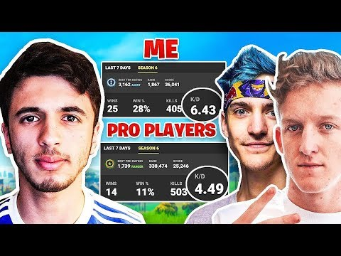 Comparing My Fortnite Stats To NINJA & TFUE
