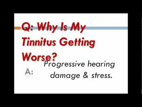 Why Is My Tinnitus Getting Worse?