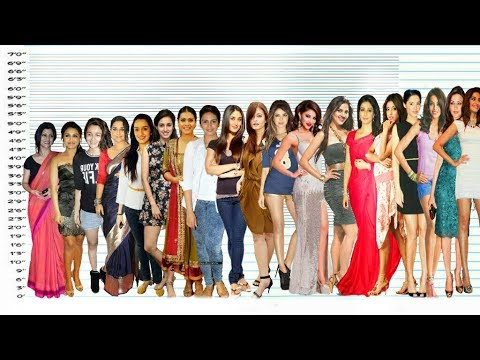Video Bollywood Actresses Height Comparison | Shortest vs Tallest download in MP3, 3GP, MP4, WEBM, AVI, FLV January 2017