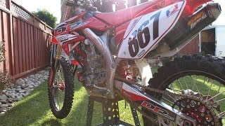 5. 2007 Honda CRF450R with FMF MegaBomb