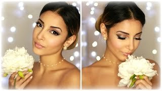 Bridal Wedding Make Up ❤ Maquillage de mariée - YouTube