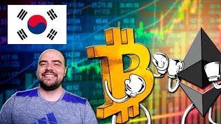 ¿Corea del Sur Enemiga de las Criptomonedas?  Bitcoin Vs Ethereum