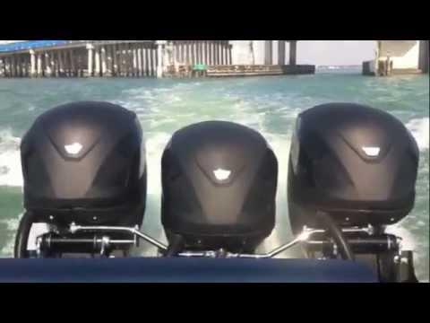 Seven Marine 557 Speed Runs