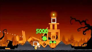 Angry Birds Seasons Walkthrough Trick or Treat 1-6