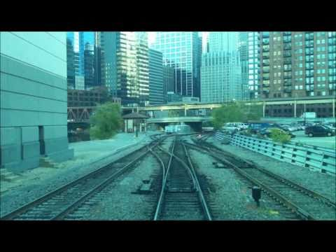First Person Chicago Train Ride HD