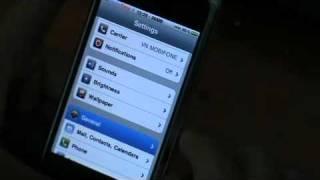 Cấu hình GPRS cho điện thoại Iphone
