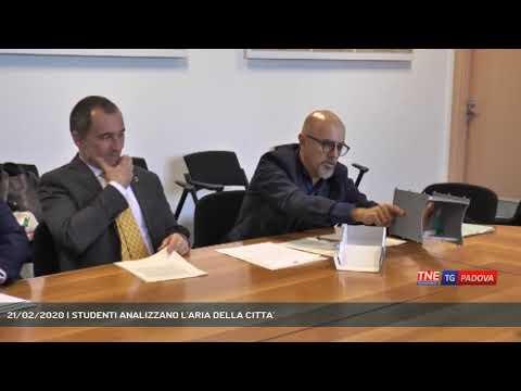 21/02/2020 | STUDENTI ANALIZZANO L'ARIA DELLA CITTA'