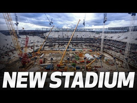 Video: NEW STADIUM | WALK OUT INTO THE NEW STADIUM BOWL