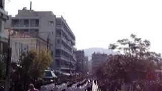 Μαθητική παρέλαση 28ης Οκτωβρίου, Χαλκίδα.