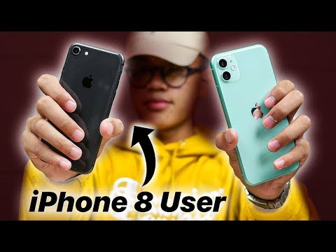 iPhone 11 Reviewed by iPhone 8 User!
