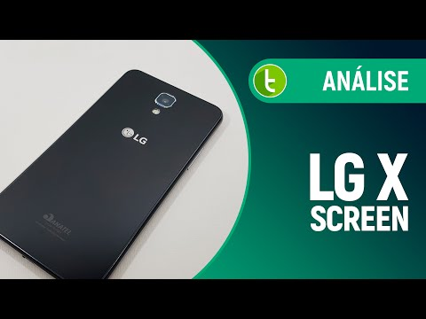 Análise LG X Screen  Review do TudoCelular