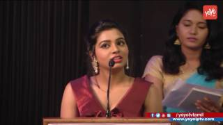 Cute Actress Anisha Xavier Speech at Pichuva Kaththi Film Audio Launch 'Pichuva Kaththi' is all about three playful youngsters! Since the trio doesn't have t...