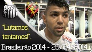 O Santos FC estreou com um empate por 1 a 1 no Campeonato Brasileiro 2014. Jogando na Vila Belmiro, o time comandado por...