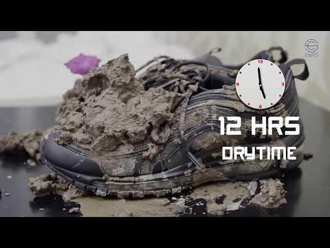 Vệ sinh giày Nike AM97 ngập trong bùn đất