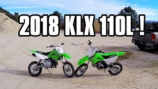 3. TWO 2018 KLX 110L FULL TRAIL RIDE!
