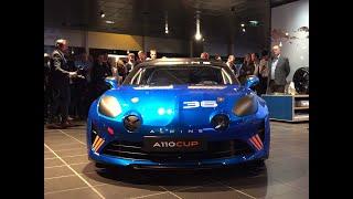 Alpine A110 Cup (2017) : ce qu\'il faut retenir de la présentation