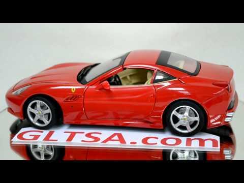GLTSA.com Ferrari California 118 Diecast Car Model (1).MOV