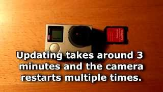 Video Howto manually update GoPro Hero 4 firmware MP3, 3GP, MP4, WEBM, AVI, FLV November 2018