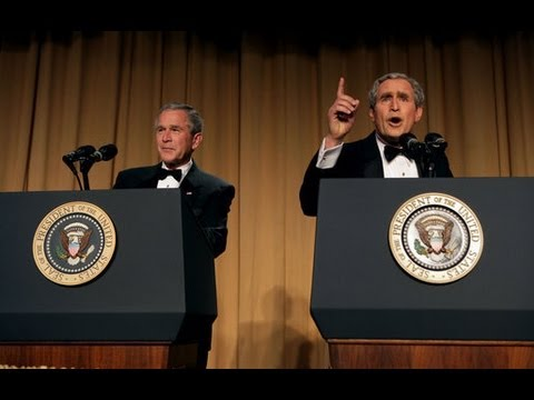 Steve Bridges - President George W. Bush at the White House Correspondant Dinner 2006